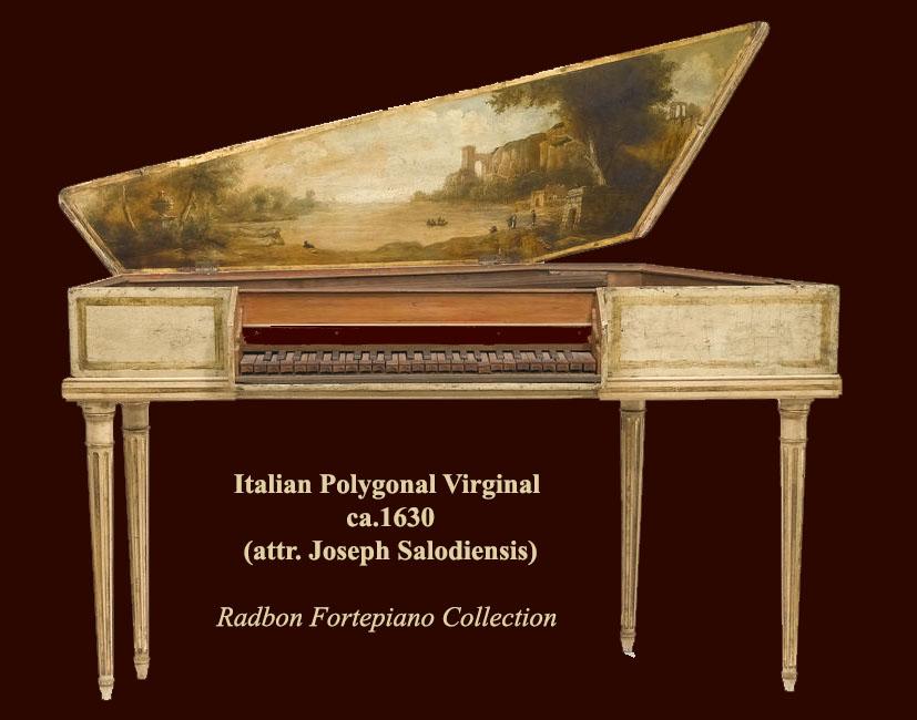 II_13 : Virginal italien vers 1630 (attr. Joseph Salodiensis)