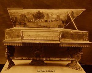 Epinette XVIIe vendue au musée instrumental George Harding Chicago