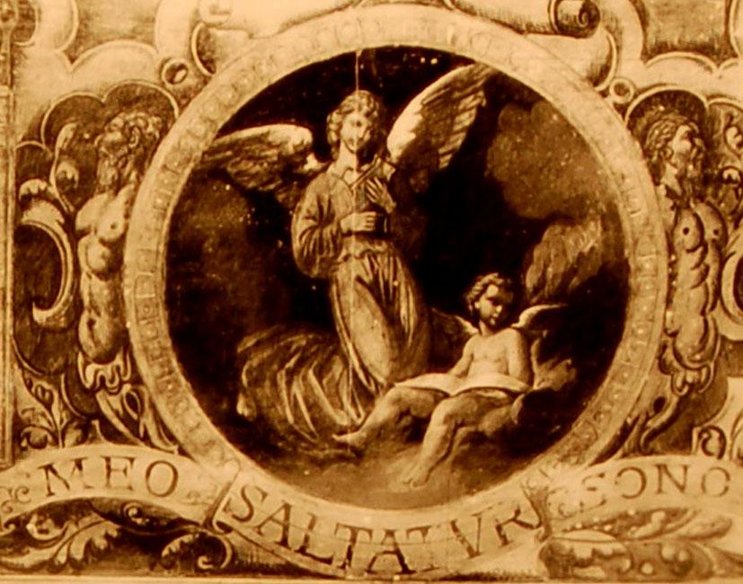 II_2    Épinette en marqueterie d'écaille rouge – Italie XVIIe – venue à Mr Fauchiet Magne en 1926