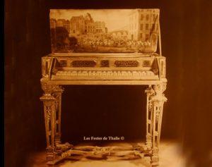 ÉpinetteXVIIe vendu au musée instrumental George Harding Chicago