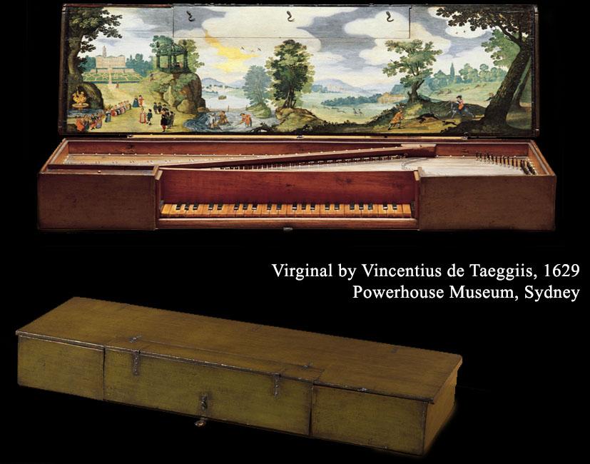 II_4 :  Virginal de Vincentius de Taeggiis, 1629