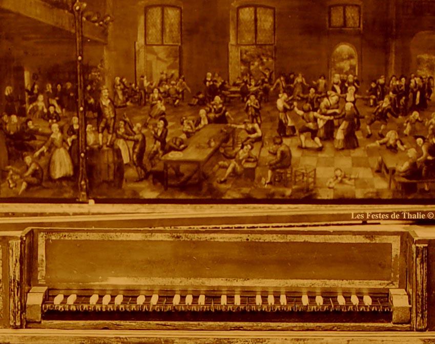 II-5  Epinette XVII vendue au musée instrumental George Harding Chicago