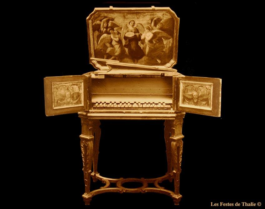 III_10  vendu au musée instrumental F. George Harding à Chicago /Orgue positif allemand - 2ème moitié du XVIIIe s