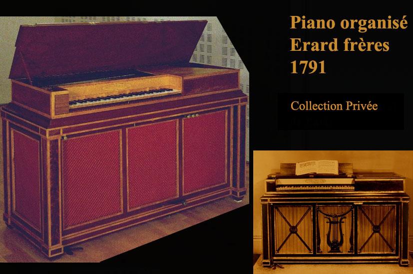 III_11 : Piano Organisé Erard