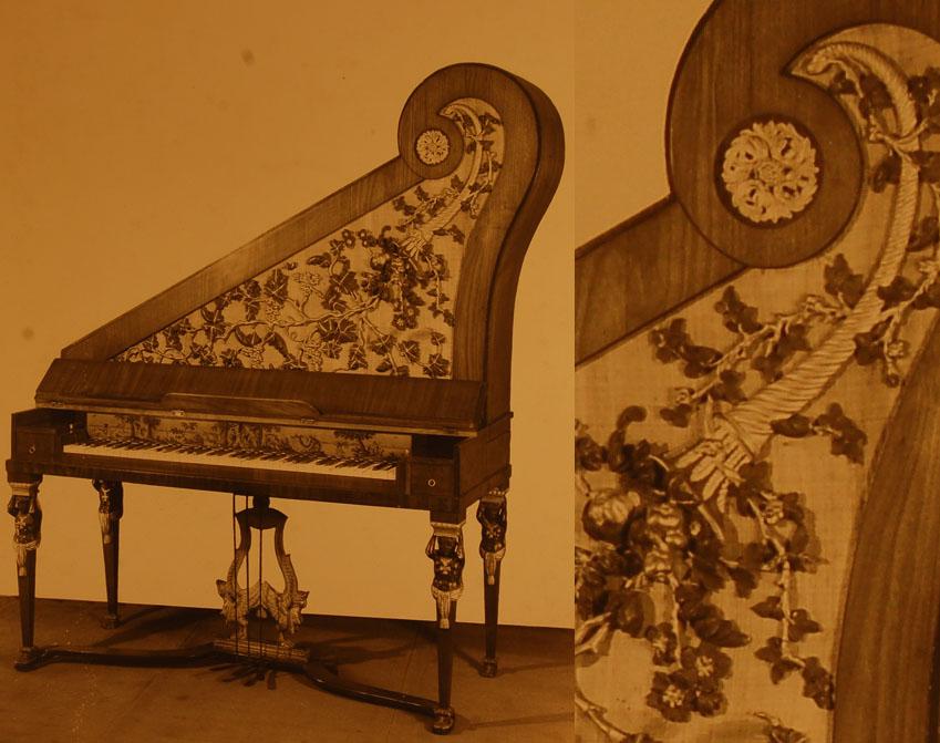 III-20   vendu au musée instrumental F. George Harding à Chicago / Piano droit de Anton Martin Thÿm - Vienne, vers 1820