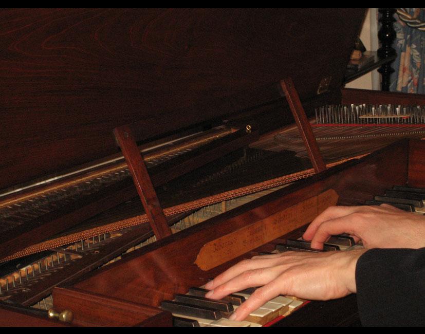 III_21 Patrick Dheur au piano de Gretry : travailler à retrouver l'authenticité d'un son
