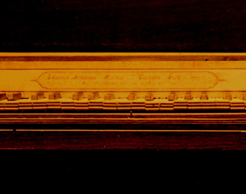 III-23    N° 1066 à Schwob d'Héricourt 9 novembre 1922/ Piano forte de Merken