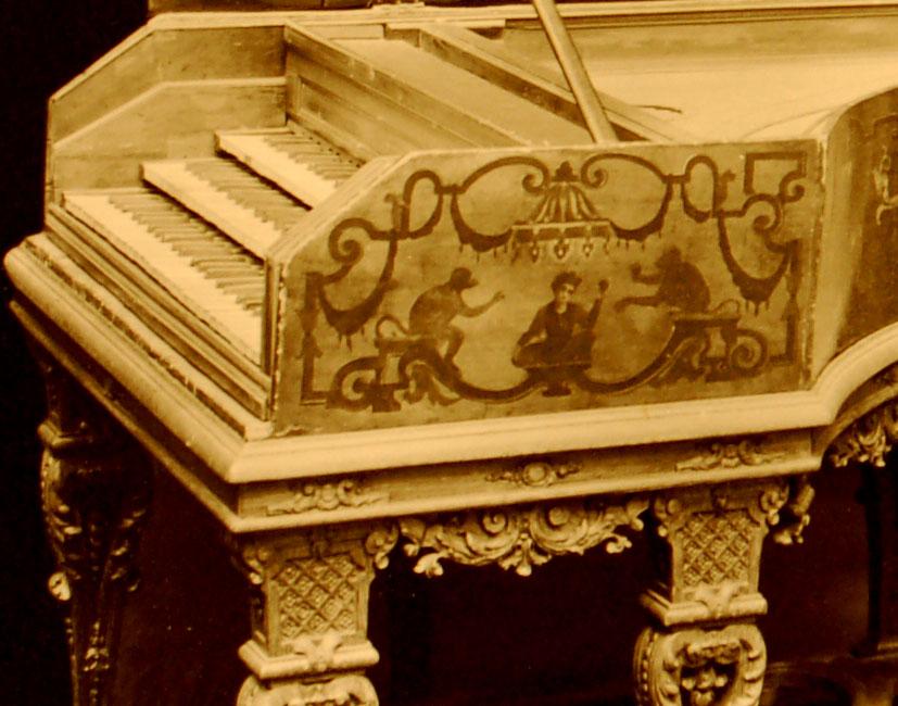 Clavecin à trois claviers de Stefanus Bolfonius-Pratensis AD (année 1627)