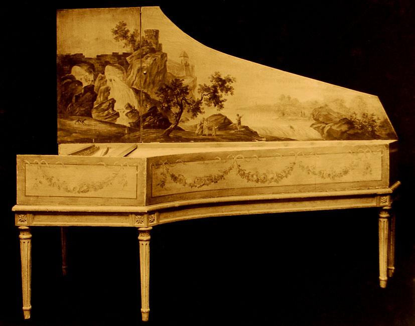 I_08  N°83 / Clavecin de Benoist Stehlin (Paris, milieu du 17ème s)  National Museum of american history (Washington, D.C).
