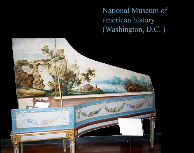 I_08    Clavecin de Benoist Stehlin (Paris, milieu du 17ème s)  National Museum of american history (Washington, D.C).