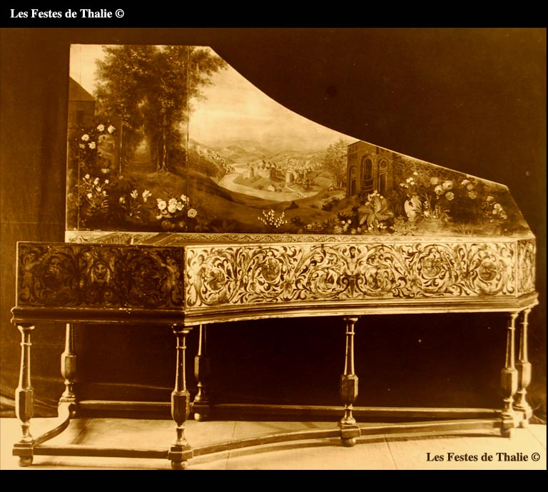 I_11    /Clavecin de I. Ruckers de 1627 ravalé en 1759 Collection privée (Etats Unis)