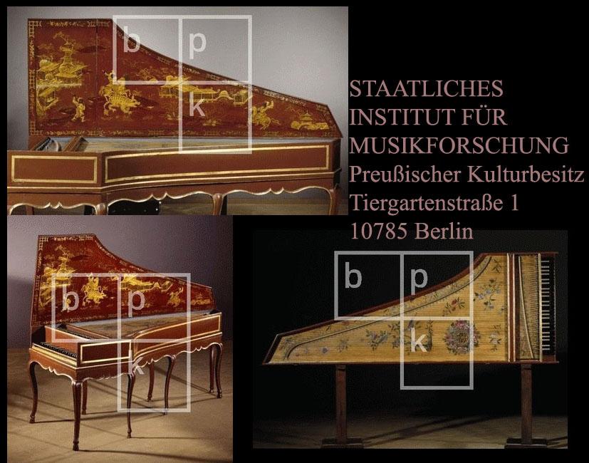 I_17     n°43  /Clavecin français à 1 clavier, vers 1720 -  Clavecin français à 1 clavier, vers 1720 depuis 1993, propriété du musée instrumental de Berlin  Cembalo, Katalognr. 5570 Berlin