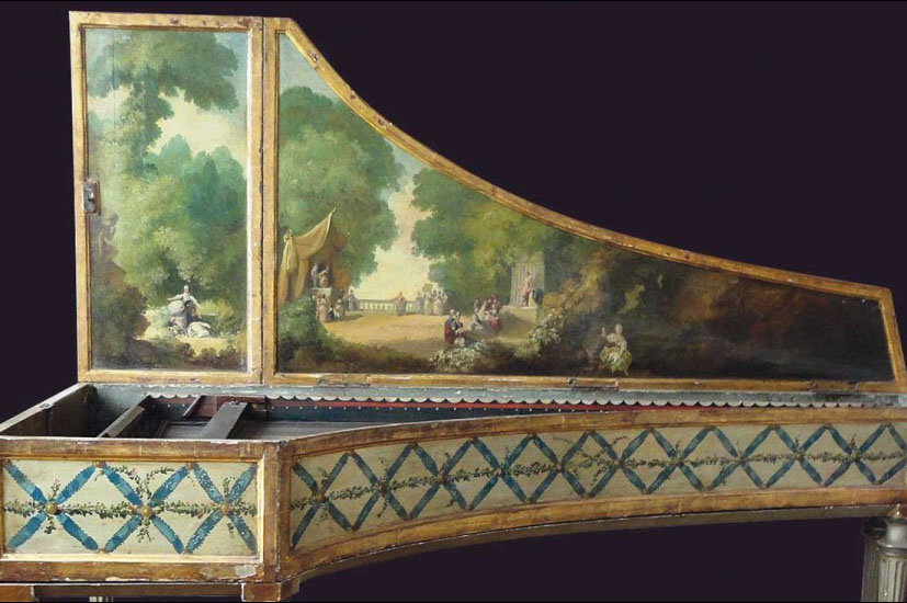I_18 : Clavecin italien  vers 1660 - Coll Pooya Radbon