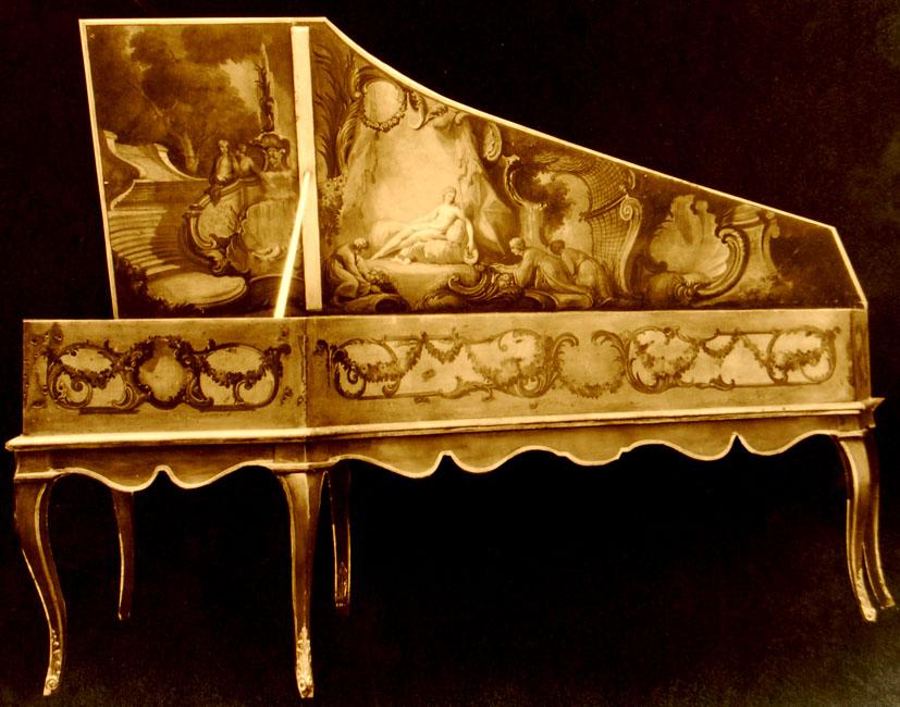 I_24 N° 1329 à Mr Wright le 22 janvier 1925 / Clavecin de Jacques Germain, Paris, 1785