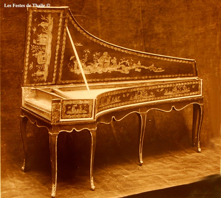 I_28    /Clavecin italien collection privée