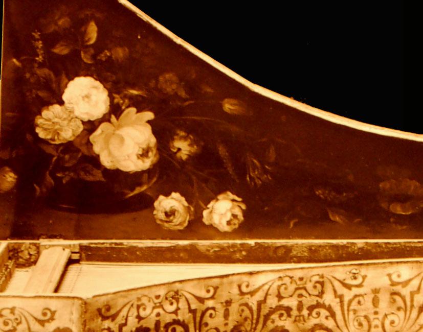 I_30    Clavecin XVIIIe s vendu au musée instrumental George F Harding à Chicago