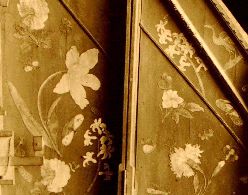 I_33    Clavecin brisé de Marius vendu à Mme de Chambure / E.979.2.2  Cité de la Musique, Paris