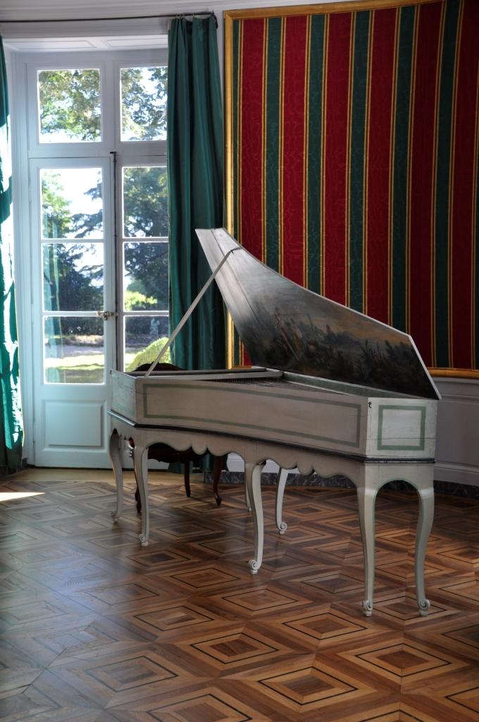 I_10 Clavecin de Gosset _ photo Sarah Guyot-Dupont-Centre des monuments nationaux